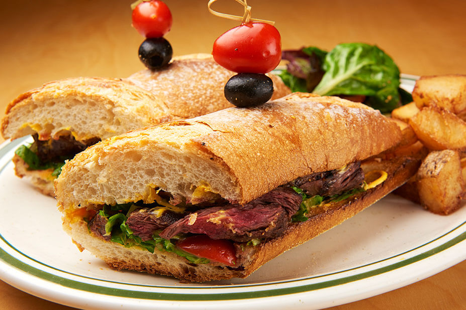 Skirt Steak Sandwich