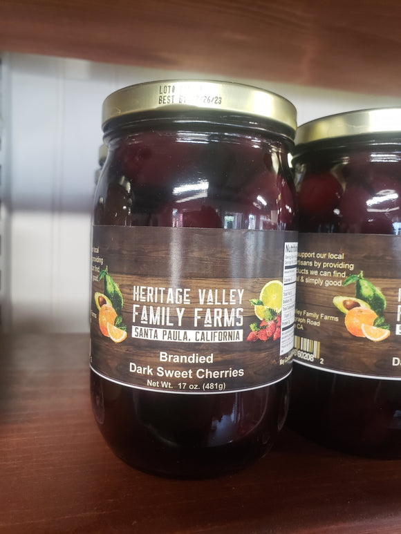 Branded Dark Sweet Cherries