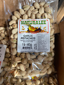 Garlic Pistachios