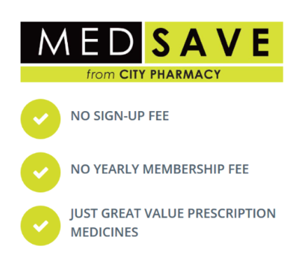 Medsave Ireland benefits at City Pharmacy Dublin