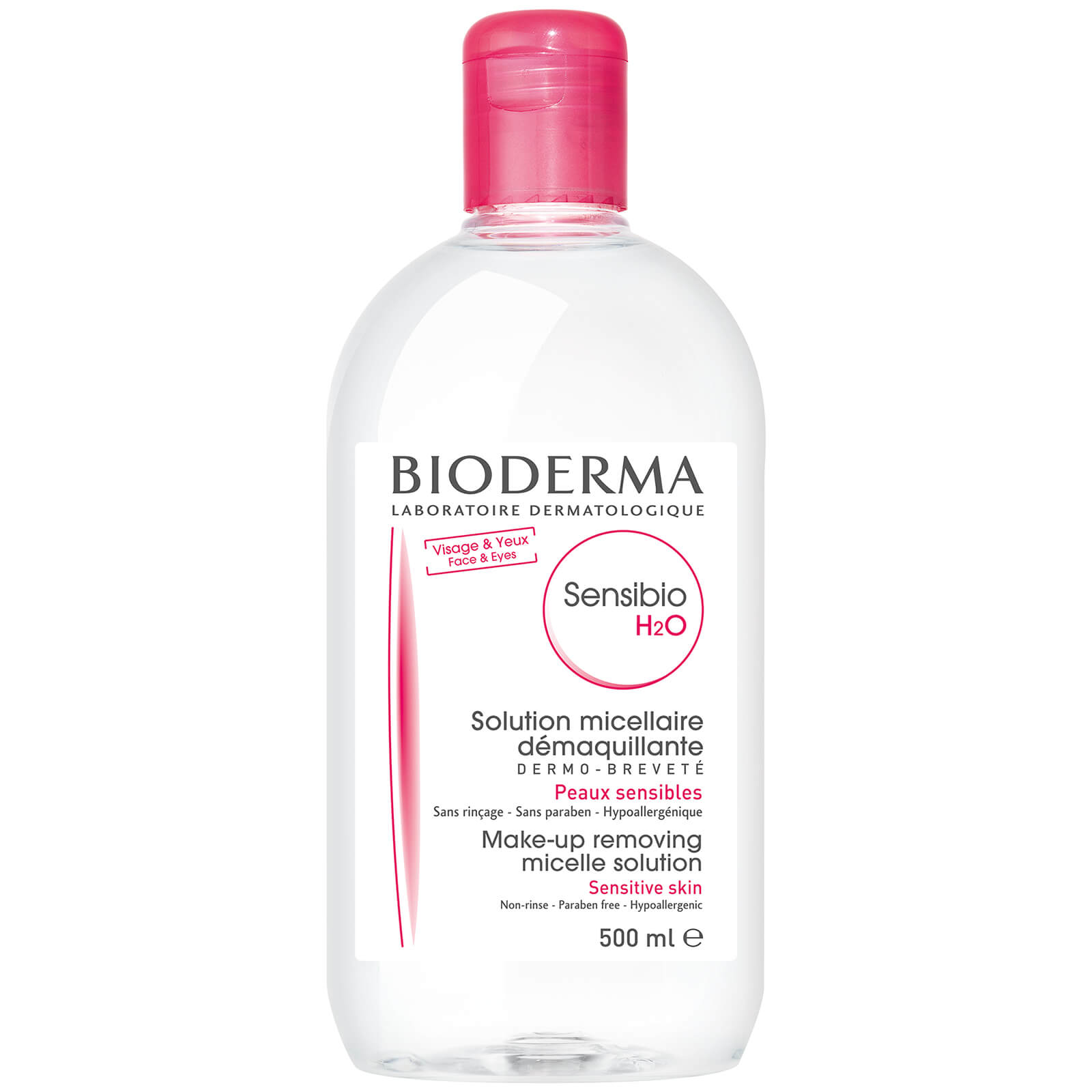 Bioderma Sensibio H2O Make-Up Removing Solution Sensitive Skin 500ml