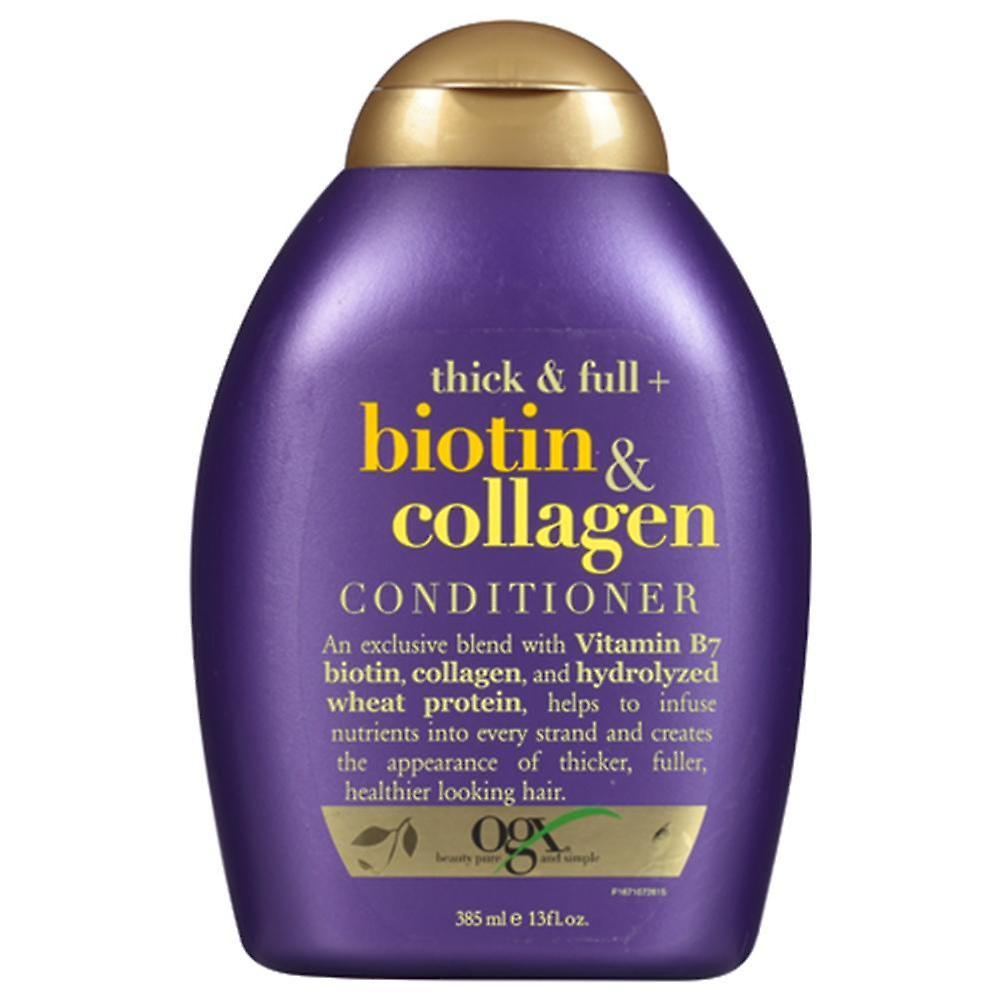 OGX Thick + Full Biotin + Collagen Shampoo 385ml