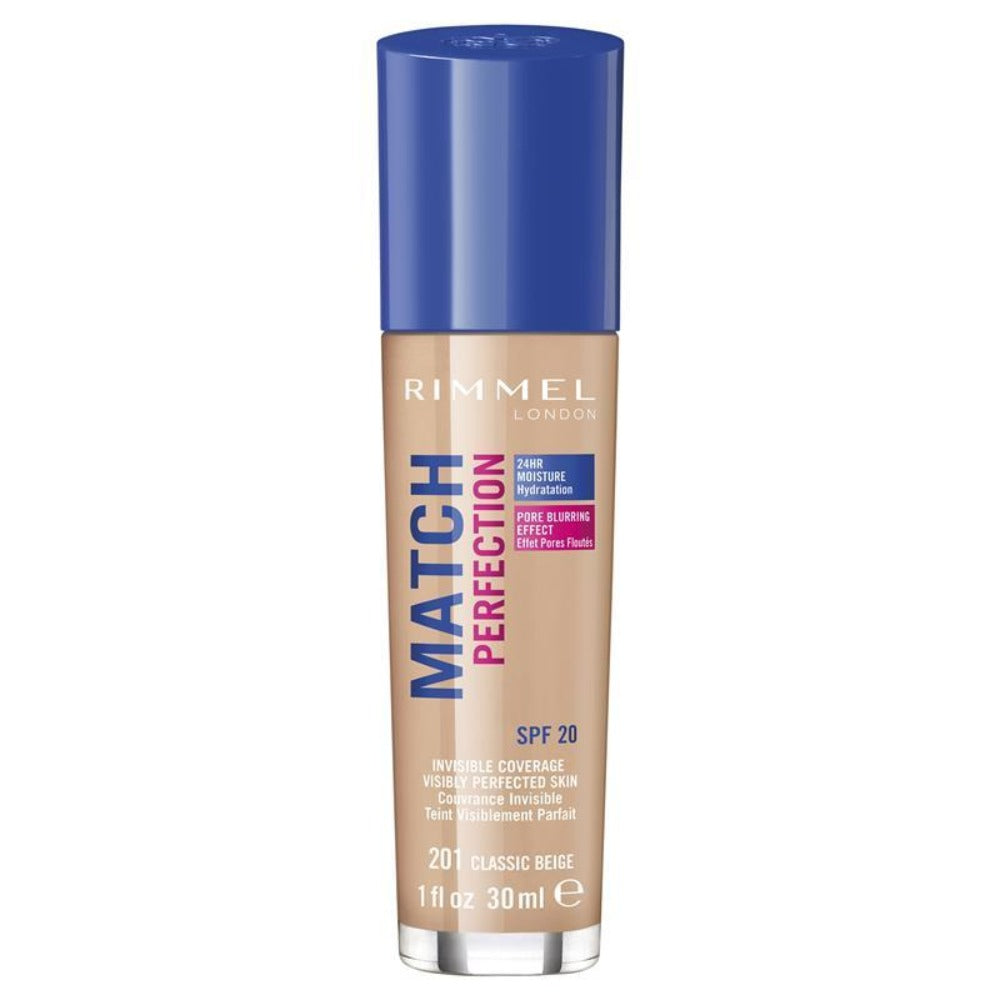 Rimmel Match Perfection Foundation 201 Classic Beige