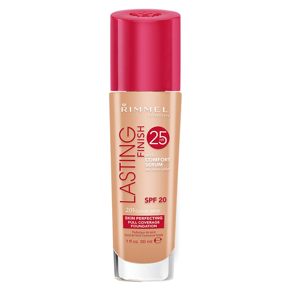 Rimmel Lasting Finish Foundation 201 Classic Beige