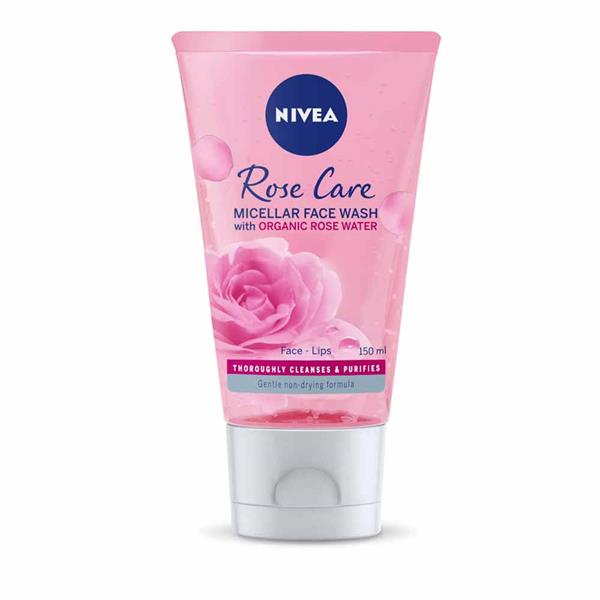 Nivea Rose Care Micellar Face Wash 150ml