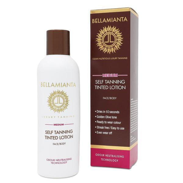 Bellamianta Medium Self Tanning Lotion 200ml