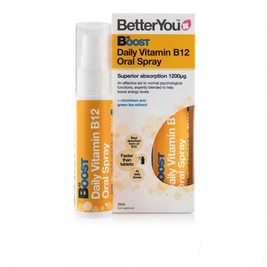 Better You Daily Vitamin B12 Oral Spray 15ml