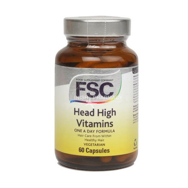 FSC Head high - vegetarian and vegan capsules-30 capsules