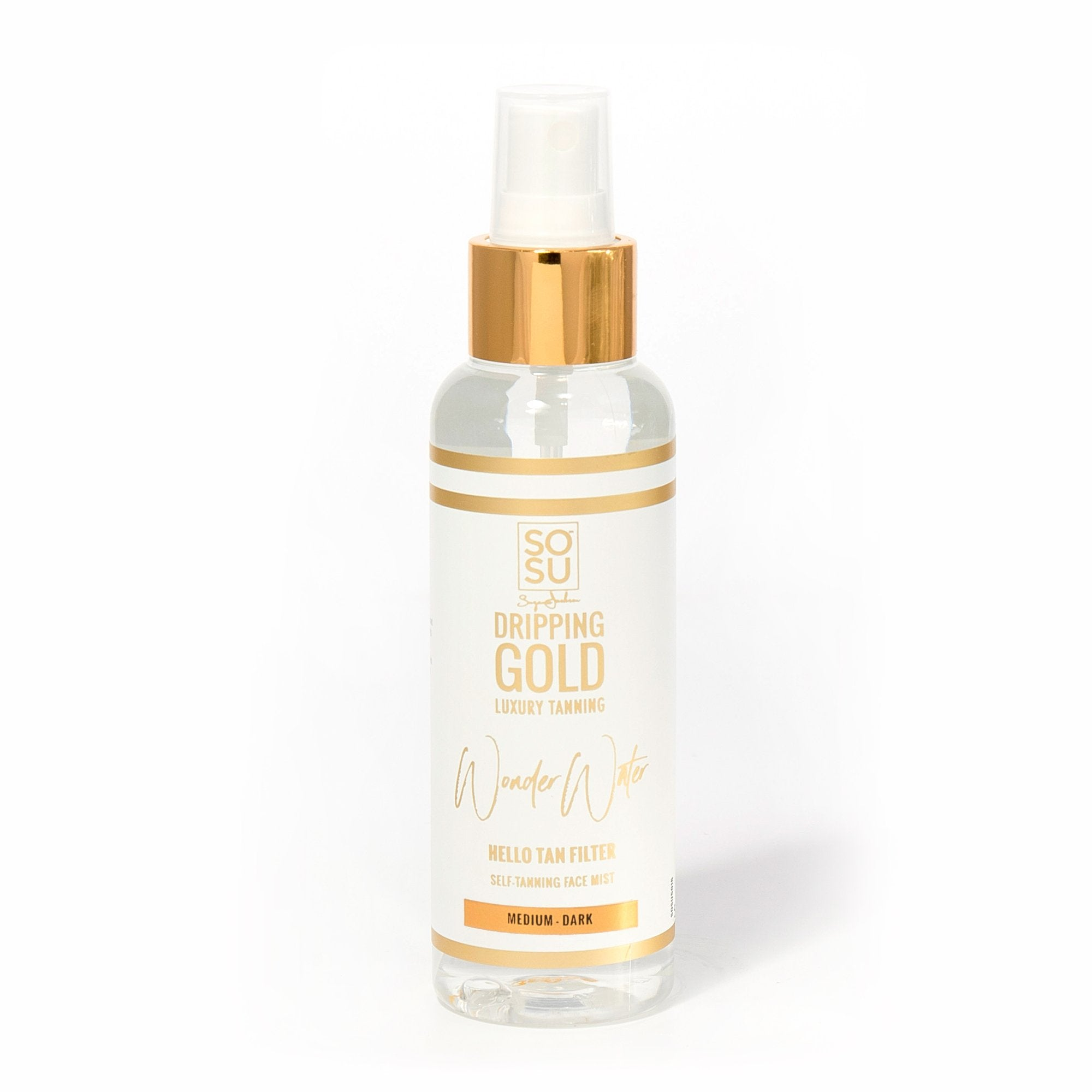 SOSU by Suzanne Jackson Dripping Gold Wonder Water Facial Mist Medium-Dark 125ml