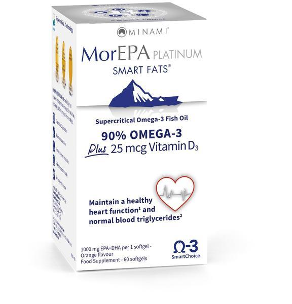 MorEPA Platinum Smart Fats 60 Capsules