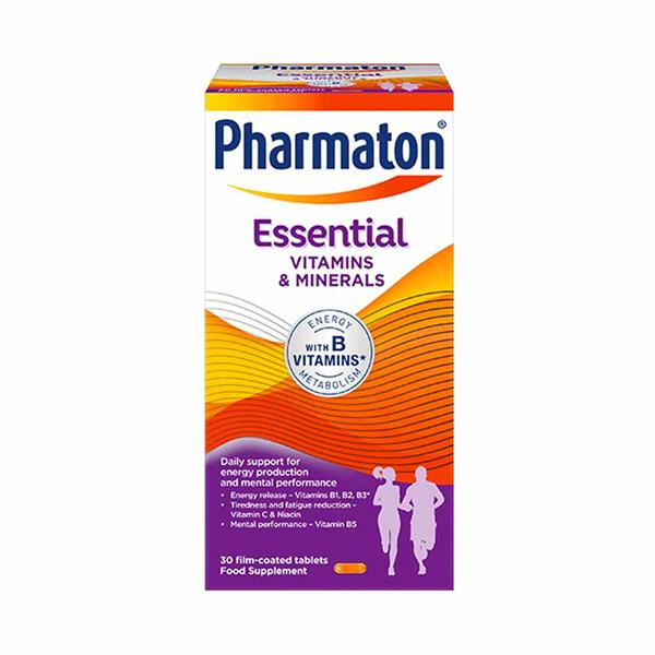 Pharmaton essential -30 film coated tablets