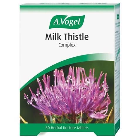 A.vogel Milk Thistle Complex Tabs. 60 Tincture Tablets.