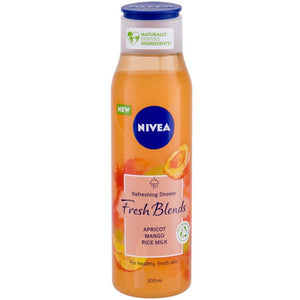 Nivea Fresh Blends - Refreshing Shower Cream (With Apricot, Mango and Rice Milk)