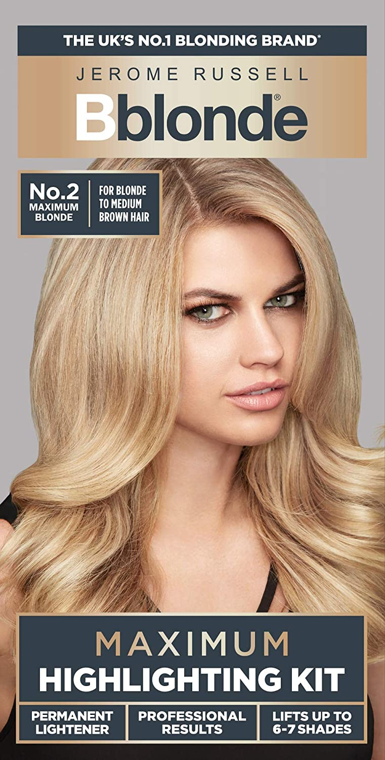 BBlonde Maximum Highlight - Kit No.2 (For Blond to Medium Blonde Hair)