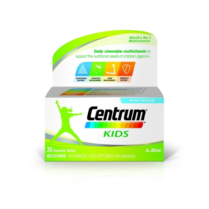 Centrum Kids (30 Chewable Tablets)