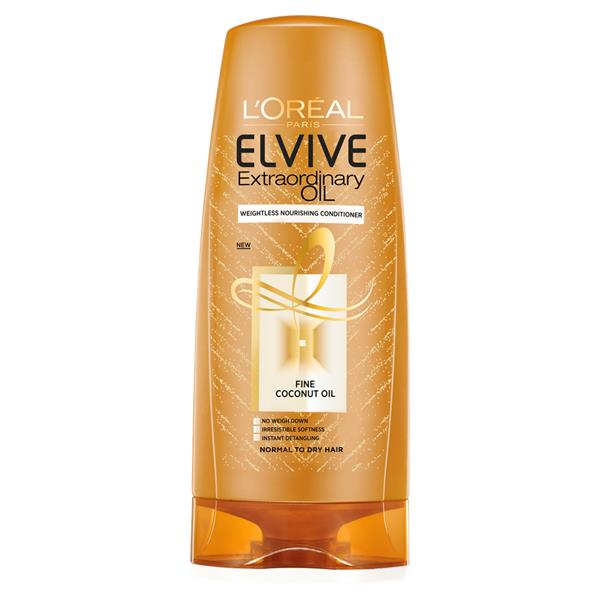 L'Oreal Elvive Extraordinary Fine Oil Coconut Conditioner 400ml