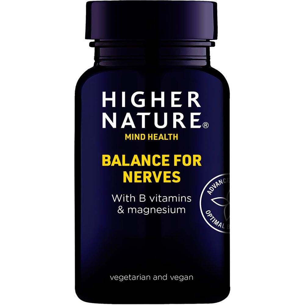 higher nature-mind health balance for nerves.
