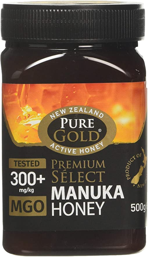 pure gold premium select manuka honey 250g
