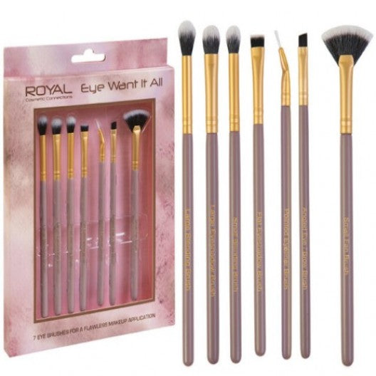 royal- eye make up brush set