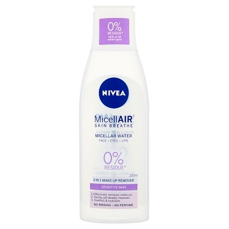 Nivea Daily Essentials Sensitive 3 Micellar Water - 200ml