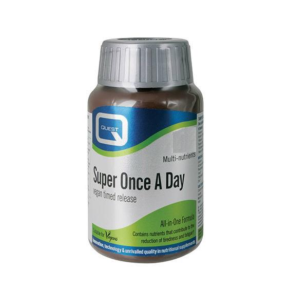 Quest Super Once A Day- vegan multi nutrient tablets-30 tablets.