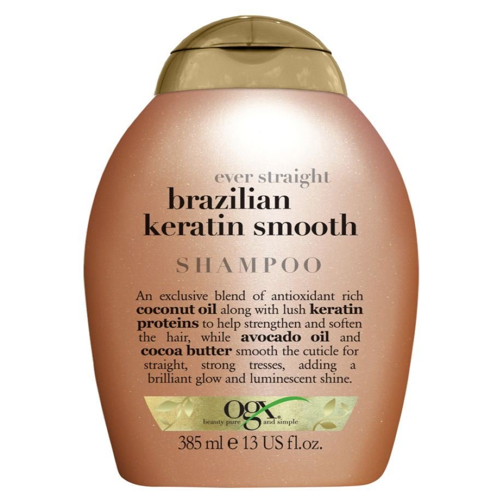 OGX Ever Straight Brazilian Keratin Therapy Shampoo 385ml