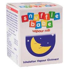 Snuffle Babe Vapour Rub- Blocked Nose & Congestion Relief For Babies