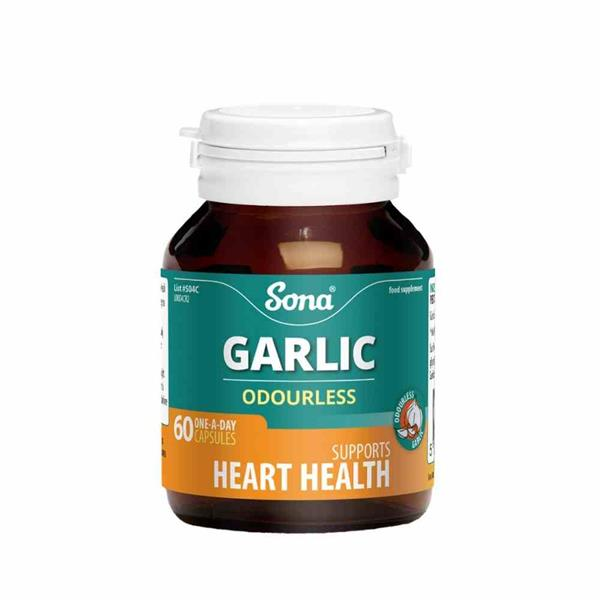 SONA Garlic and Vitamin C 60 Capsules