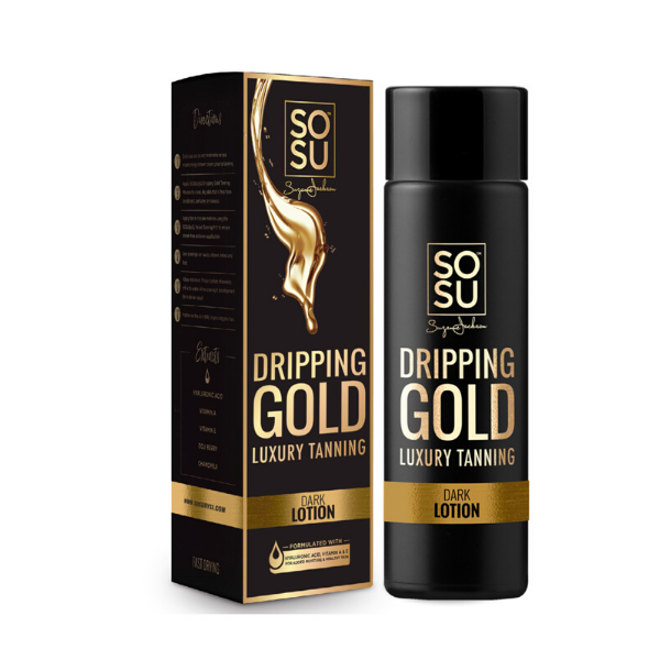 SOSU by Suzanne Jackson Dripping Gold Lotion Dark 200ml
