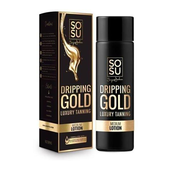 SOSU by Suzanne Jackson Dripping Gold Lotion Medium 200ml