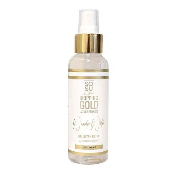 SOSU by Suzanne Jackson Dripping Gold Wonder Water Facial Mist Light-Medium 125ml