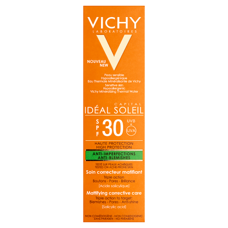 Vichy Ideal Soleil Anti-Blemish Corrective Care SPF30