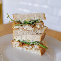 Homemade Fish Finger Sandwich