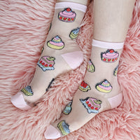 French Pastries Socks