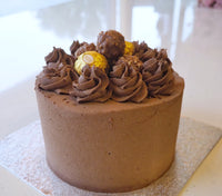 Hazelnut and Chocolate Cake