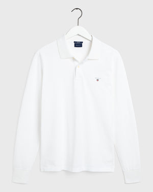 The Original Pique LS Rugger White
