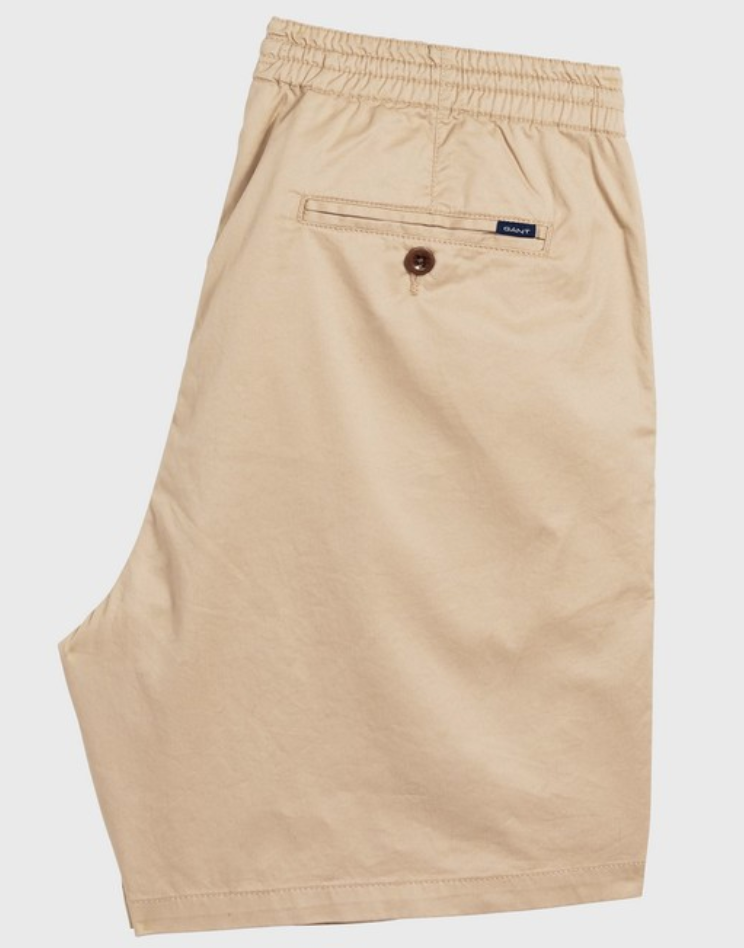 Gant Relaxed Embroidered Short Bermuda Sand