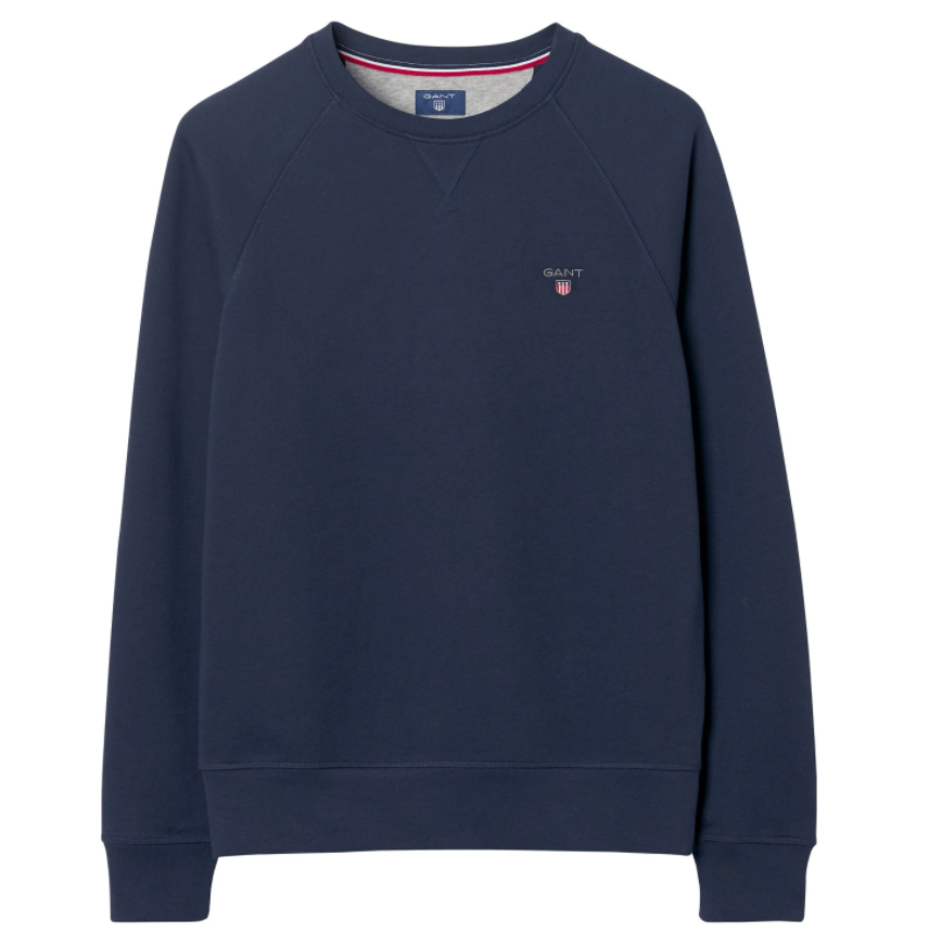 GANT ORIGINAL C-NECK SWEAT Marine