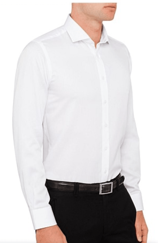 ABELARD SUPER NON IRON TWILL SLIM FIT SHIRT