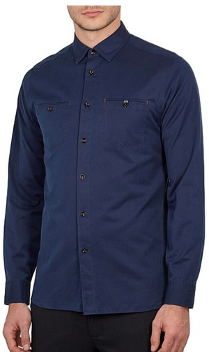 TED BAKER DENRAY DENIM SHIRT