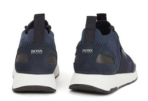 Hugo Boss Footwear Hugo Boss Men's Dark Blue Titanium Runn Trainers