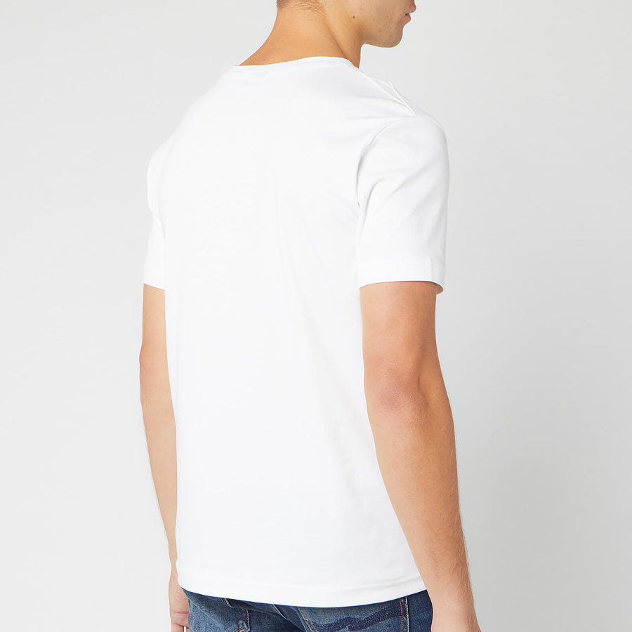 BOSS Men's Talbo Vertical Small Logo T-Shirt - White