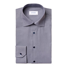Load image into Gallery viewer, Eton Mini Gingham Poplin Dress Shirt
