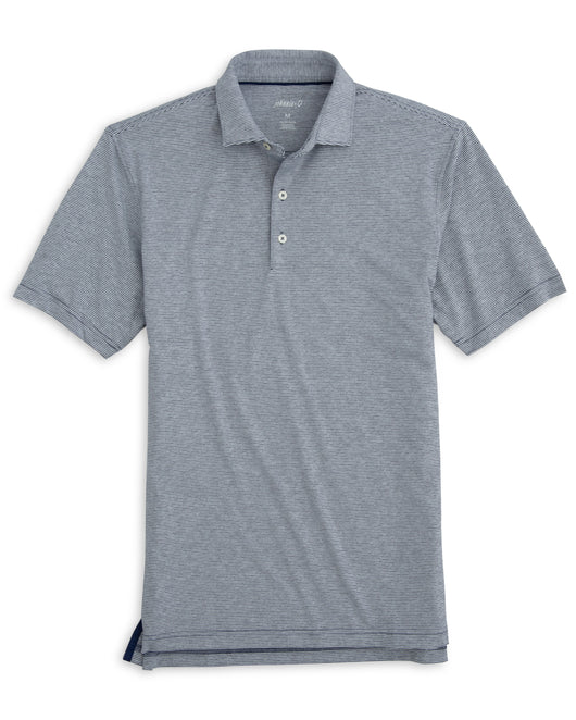 Johnnie-O Lyndon Striped PREP-FORMANCE Jersey Polo