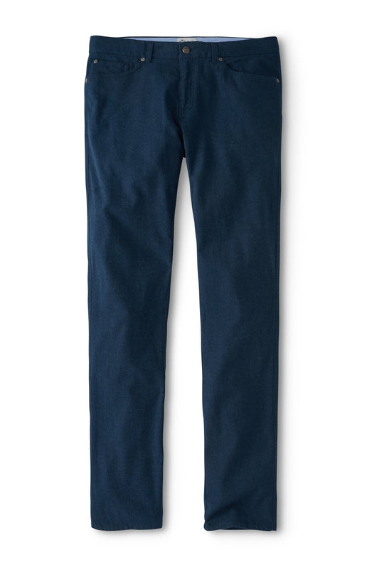 Peter Millar Mountainside Flannel Five Pocket Pant