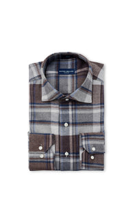 Peter Millar Collection Caven Plaid Sport Shirt