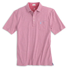 Load image into Gallery viewer, Johnnie-O The Original 4-Button Polo - Sean Stripe