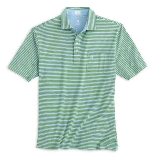 Johnnie-O The Original 4-Button Polo - Sean Stripe