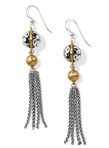 Brighton Elora Luxe Tassel French Wire Earrings