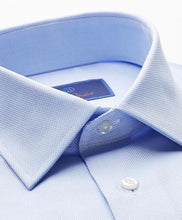Load image into Gallery viewer, David Donahue Sky Blue Regular Fit Royal Oxford Dress Shirt